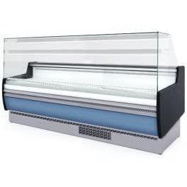 Expositor réfrigéré profesional - 2,5 x 0,95 - ventanas vertical ...