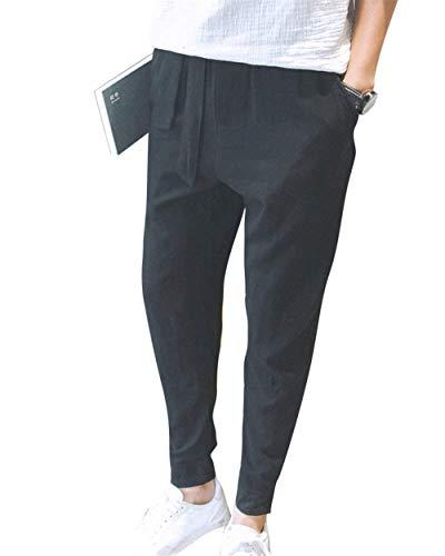 Essenziale Di Traspirante Autunno Pantaloni Moda Primavera Da Solido Uomo Harem Con Leggeri Tasche Colore Allentati Casual fC4BwCqz