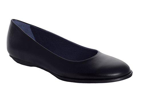 Oneflex Natalie negro - zapato de trabajo cómodo para mujer