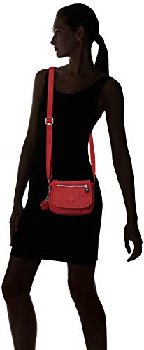 Cross Sabian Women's Sparkly Crossbody Body Red Kipling Bag Brick Mini Gold Handbag 6p7x7n