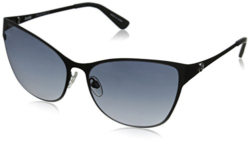 BMW B6514 Cateye Sunglasses, Black, 60 - Exclusive Sunwear
