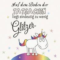 20 Serviette 33 X 33 Cm Glitzer Einhorn Kinder Sterne Geburtstag