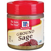 Mccormick Specialty Herbs and Spices Ground Sage, .6 Oz, (Pack of 6)