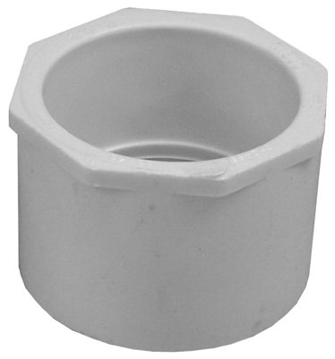 Genova Products 30292 2-1//2 X 2 PVC Reducing Bushing
