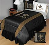 NEW ORLEANS SAINTS TWIN COMFORTER Bedding New NFL