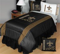 - NEW ORLEANS SAINTS TWIN COMFORTER Bedding New NFL Boys Football