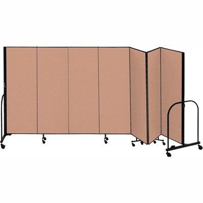 SCXCFSL507DO - Screenflex FREEstanding Portable Room (Screenflex Portable Room Partition Dividers)