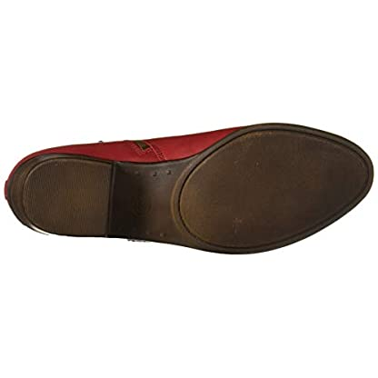 Lucky Brand Women's LK-Basel Ankle Boot, Garnet, 6.5 4