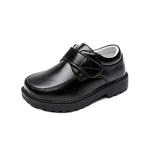 キュミオ 아이 키즈 정장 신발 단 화로 퍼 스트랩 슈즈 소년 가죽 통 다니는 입학 식 결혼식 사이틀 발표회 생일 외출 아기 멋 / Cumio Kids Kids Formal Shoes Shoes Loafers Strap Shoes Boys` Kids Leather Shoes Go to School Entrance Ceremony...