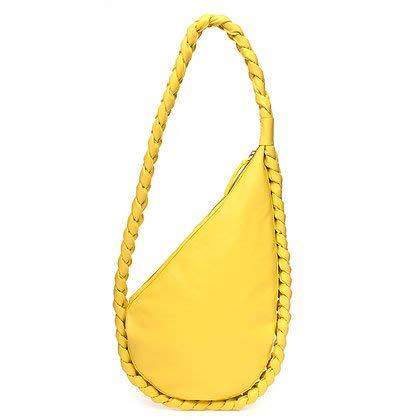 Bolsa Trança Amarela Dani Cury