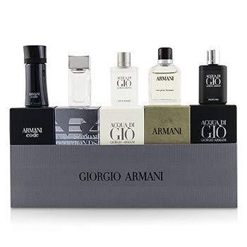 Amazon.com   GIORGIO ARMANI Men Miniature Coffret  Acqua Di Gio, Code,  Acqua Di Gio Profumo, Eau Pour Homme, Diamonds For Men   Beauty 1c05a6b81370