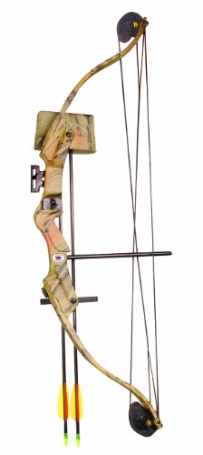 Arrow Precision Caribou Youth Archery Bow Set (25-Pounds)