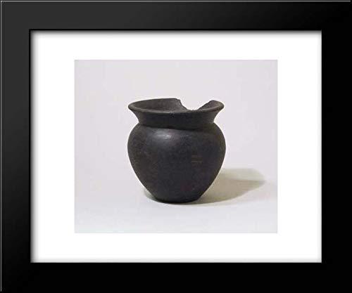 Etruscan Culture - 18x15 Framed Museum Art Print- Focolare Bowl ()