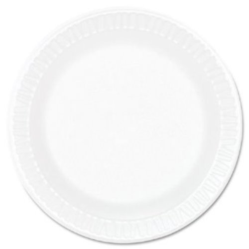 (Dart 6PWC, 6-Inch Concorde White Non-Laminated Foam Plate, Take Out Catering Disposable Plates (100))
