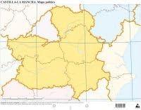 Mapa De Castilla La Mancha Magnetico Enmarcado Para Imanes Mapas