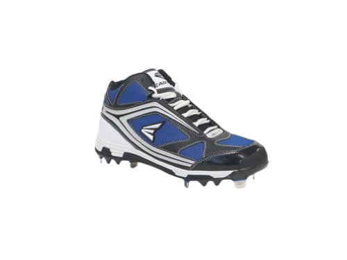 Easton Black Phantom Mid Team Baseball Cleats - Men JySFb2