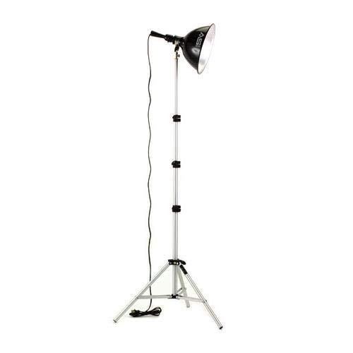 (Smith-Victor KT100 Single Light, 250 watt Photoflood Kit.)