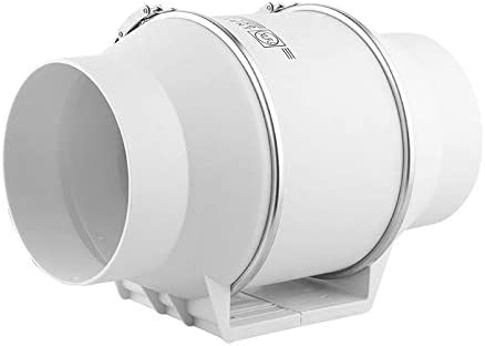 Keller Garage Badezimmer EtexFan 70mm Rohrventilator 220m/³//h PP Kanalventilator Abluftventilator f/ür Wachstumszelte 23W