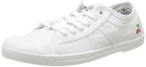 Le Temps des Cerises Basic 02, Zapatillas Para Mujer, Blanco (White White), 36 EU