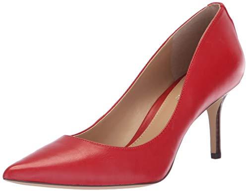 (Lauren Ralph Lauren Women's Lanette Pump, red, 9.5 B)