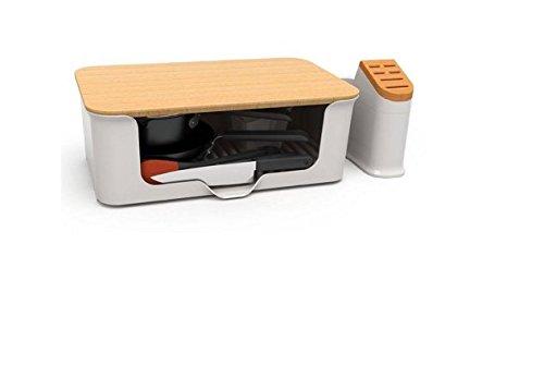 Kitchen in A Box 14x2011;pc. Cookware Set, White (Kitchen In A Box 14 Pc Set)