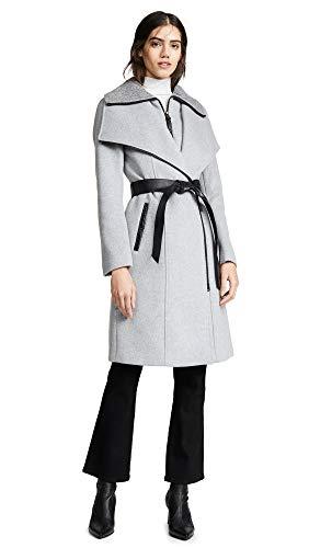 Mackage Women's Nori-K Coat, Light Grey, Small