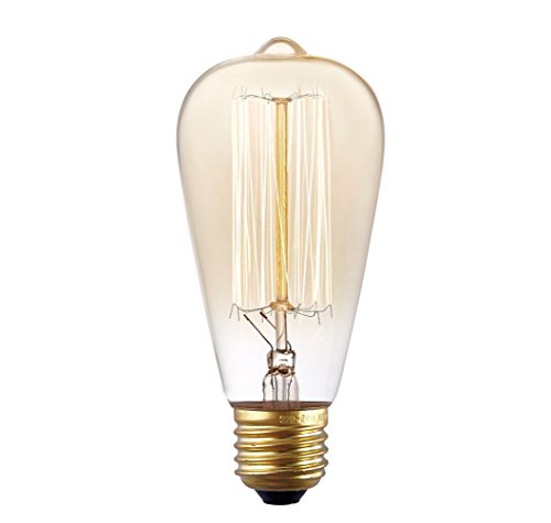 G14 E12 4w Led Vintage Antique Filament Light Bulb 40w: LETO Dimmable Candelabra Listed 25W Equivalent