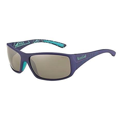 33a0e0ea8bd4bb Bollé Kingsnake Lunettes de soleil Bleu Mat Taille M  Amazon.fr  Sports et  Loisirs