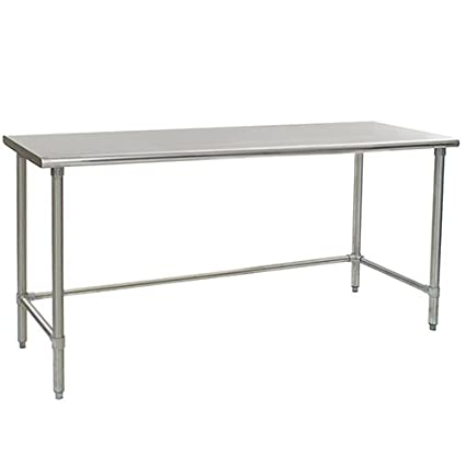 Eagle t3084steb mesa de trabajo de acero inoxidable con base de ...