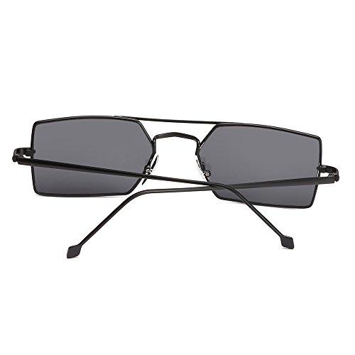 Cuadrado Unisex Para De Pequeño De Gafas Mujer Uv400 Sol Sol Gafas TIANLIANG04 fvUqww