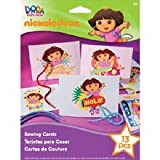 Nickelodeon Dora The Explorer Sewing Cards Kit