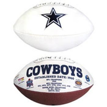 Dallas Cowboys Signature Series Football