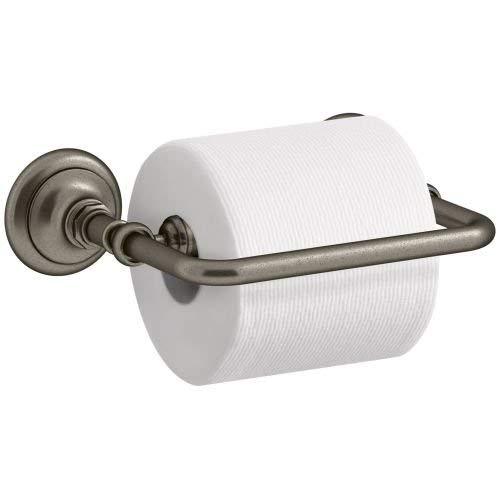 KOHLER K-72573-BN Artifacts Pivoting toilet tissue holder, Vibrant Brushed Nickel by Kohler (Image #2)