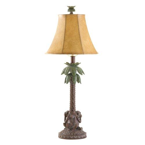 VERDUGO GIFT 36001 Monkeys & Palm Tree Table Lamp
