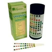 Rapide de réponse 10 paramètres (10SG) Bandes réactif de test d'urine, 100 Strips / bouteille