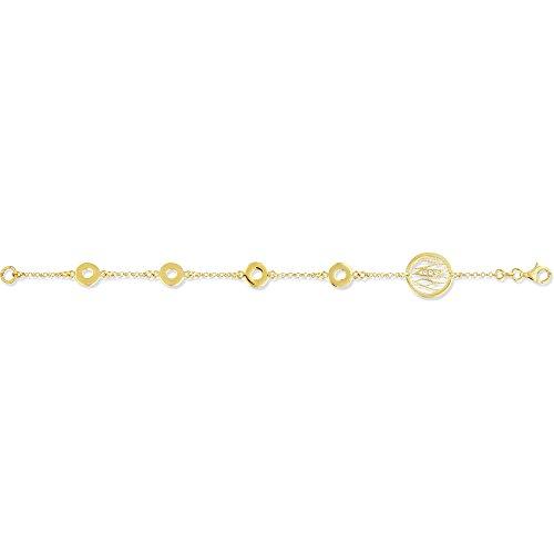 SF Bijoux - Bracelet plaqué or OZ (18 cm) - (401841-18)