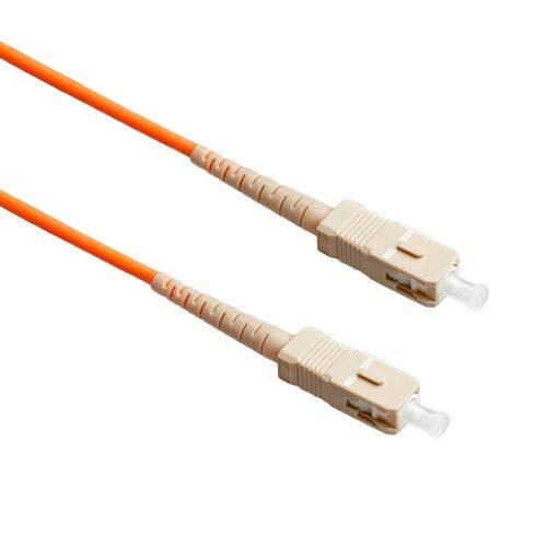 FiberTool Simplex MM SC to SC Patch Cable 62.5/125 Fiber Optic Jumper (1 Meter)
