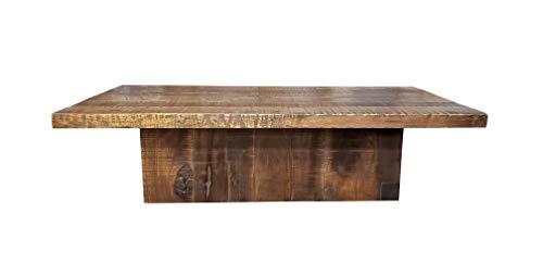 Walnut Block Coffee Table