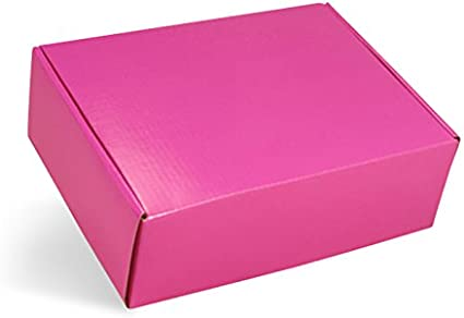 Caliente de color rosa cajas de cartón 4
