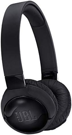 JBL Tune 600 BTNC On-Ear Wireless Bluetooth Noise Canceling Headphones – Black