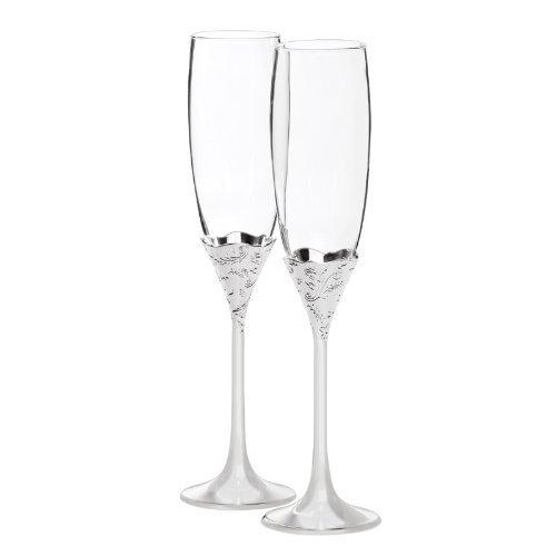 - Vera Lace Bouquet Champagne Flute (Set of 2)