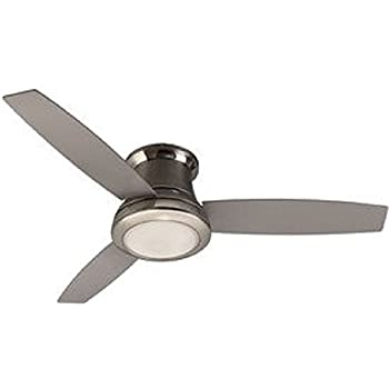 flush mount ceiling fans with light and remote control home depot harbor breeze sail stream brushed nickel indoor fan kit blade hunter m