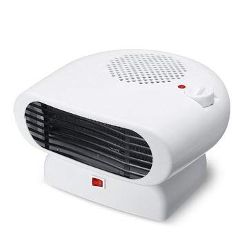 Electric Space Heater Fan Ceramic Thermostat Portable Personal Oscillating - 1PCs