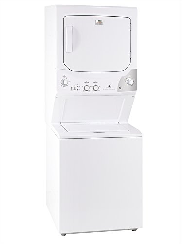 (White-Westinghouse by Electrolux MKTG15GNAWB Laundry Center Stack Washer Dryer 220 Volts 50Hz Export Only)