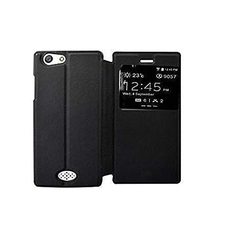 official photos e8501 ec663 COVERNEW Flip Cover for Oppo Neo 5 - Oppo 1201 - Black