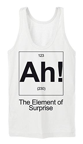 AH! The Element Of Suprise Tanktop Girls Blanc