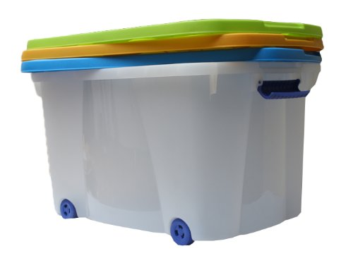 Fantastisch XXL JUMBO ROLLBOX ROLLCONTAINER BOX 50 L Container NEU: Amazon.de  ZQ92