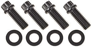 ARP Lower Pulley Bolts Ford 12 Pt, 4-pc., High Perf. (Pt Head 12 Stud)