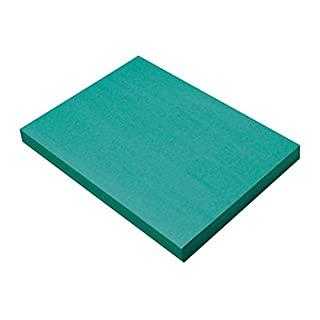 SunWorks Heavyweight Construction Paper, 9 x 12 Inches, Turquoise, 100 Sheets
