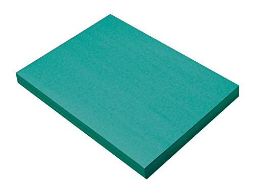 (SunWorks Construction Paper, Turquoise,  9